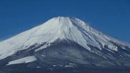 山中湖と逆さ富士 Stock Video Footage