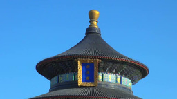 The Temple of heaven Park Imperial Sacrificial Altar Stock Video Footage
