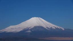 冠雪の富士山 Stock Video Footage