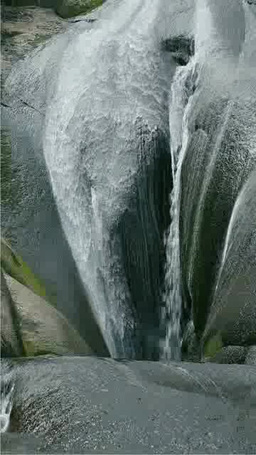 Toudo Waterfalls Stock Video Footage