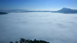 Lake Mashu in fog Footage