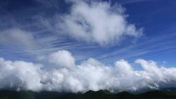雲わく山並み Footage