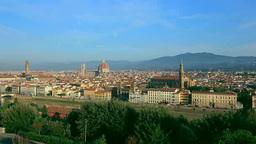 ミケランジェロ広場からフィレンツェ市街 Footage