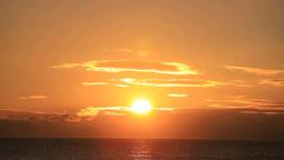 津軽海峡からの日の出 Footage