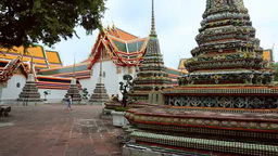 Wat Pho stock footage