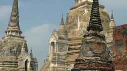Wat phra si sanphet Stock Video Footage