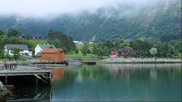 Streets of Eidfjord Stock Video Footage