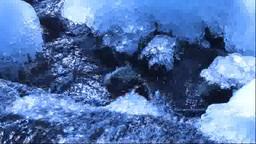飛沫氷と流れ Footage