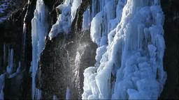 凍るフンベの滝 Footage