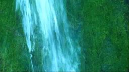 苔むすフンベの滝 Stock Video Footage