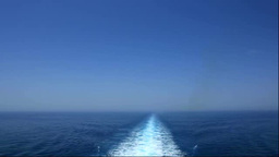 Wake of the ferry Footage