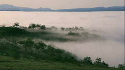 雲海の屈斜路湖 Footage