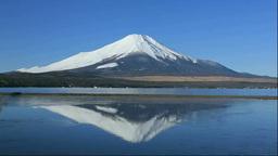 富士山と山中湖 Stock Video Footage