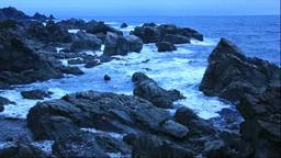 冬の須郷岬の夜明 Footage