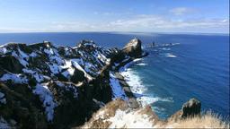 積丹半島の神威岬 Footage