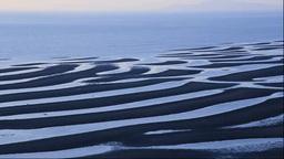 有明海の御輿来海岸の砂干潟 Footage