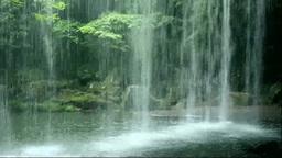 滝裏から見る鍋ヶ滝 Footage