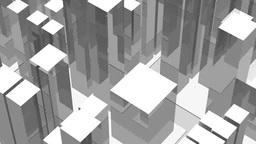回転するビル街 Stock Video Footage