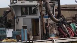 出船する漁師 Footage