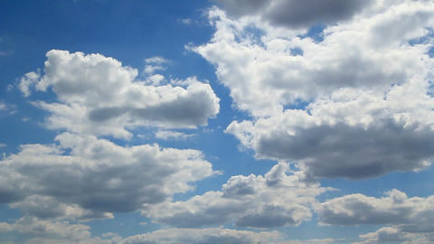 Fast running clouds Stock Video Footage