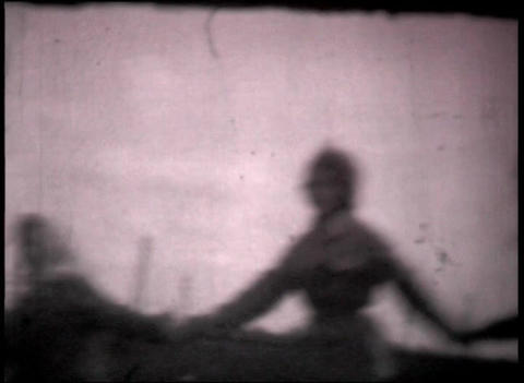 Round dance USSR 8mm Stock Video Footage