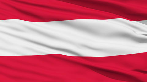 Waving national flag of Austria Stock Video Footage