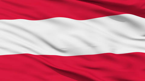 Waving national flag of Austria Animation