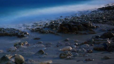 Surf timelapse 1 Stock Video Footage