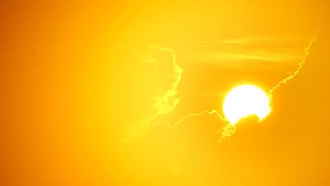 Tropical sunrise Stock Video Footage