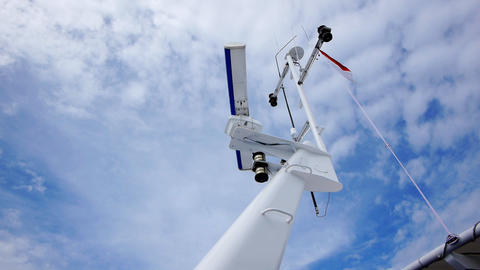 Yacht radar 1 Stock Video Footage