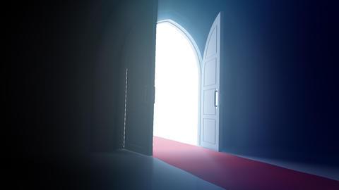 Door Opening CD L1 In HD Stock Video Footage