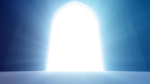 Door Opening CD M1 In HD Animation