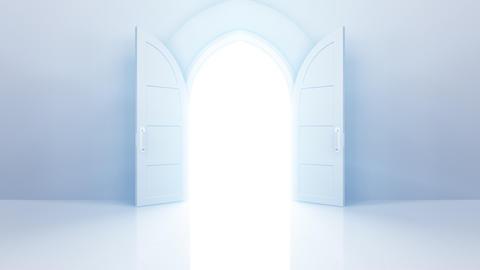 Door Opening CW F2 In HD Stock Video Footage