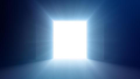 Door Opening DD F2 In HD Stock Video Footage