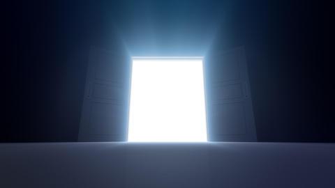 Door Opening DD M1 In HD Stock Video Footage