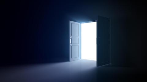 Door Opening DD R1 Fix HD Stock Video Footage