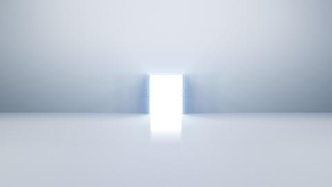 Door Opening DW F2 In HD Stock Video Footage