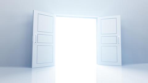Door Opening DW L1 In HD Stock Video Footage