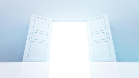 Door Opening DW M1 In HD Stock Video Footage