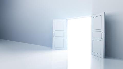 Door Opening DW R1 Fix HD Stock Video Footage