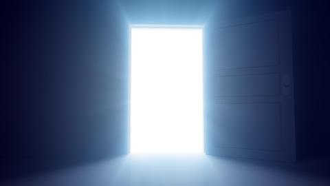 Door Opening SD L1 In HD Stock Video Footage