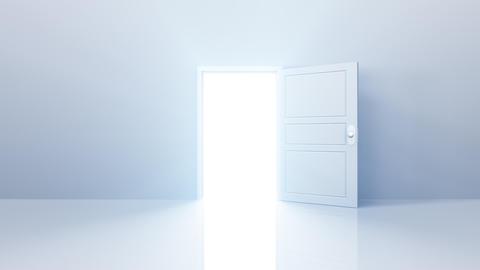 Door Opening SW F2 In HD Stock Video Footage