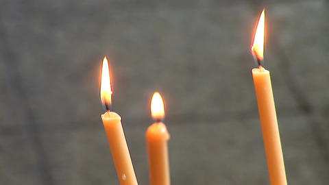 candle 1 Stock Video Footage