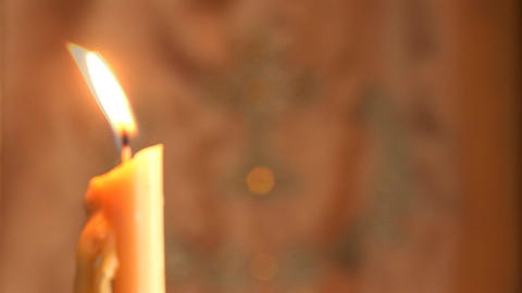 candle 7 Stock Video Footage
