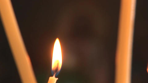 candle 9 Stock Video Footage