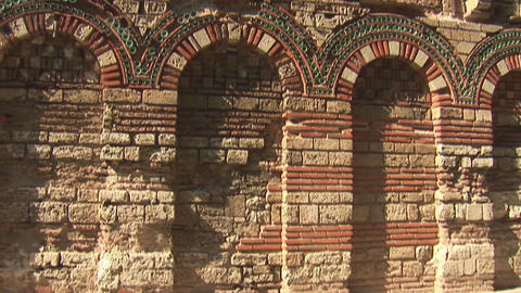 nessebar church 19 Stock Video Footage