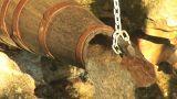 wood pipe 2 Footage