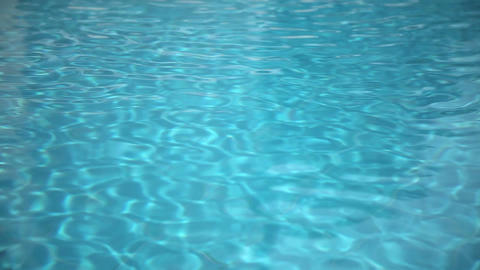 Abstract wave pattern in the swimming pool Stock Video Footage