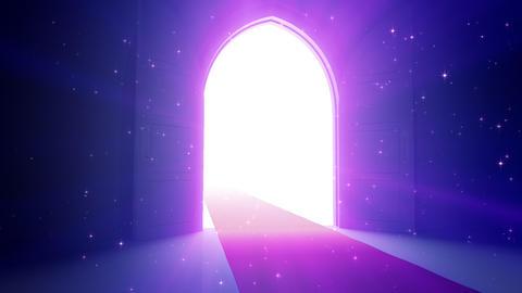 Door Opening CD L1 In2 HD Stock Video Footage
