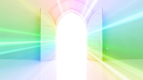 Door Opening CW F2 In2 HD Animation
